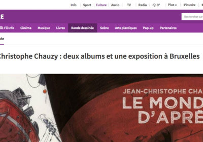 Article sur RTBF.be : Jean-Christophe Chauzy