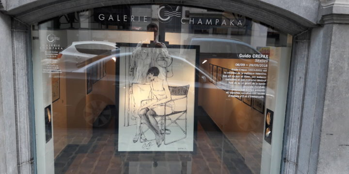 Exposition Sexties de Guido Crepax