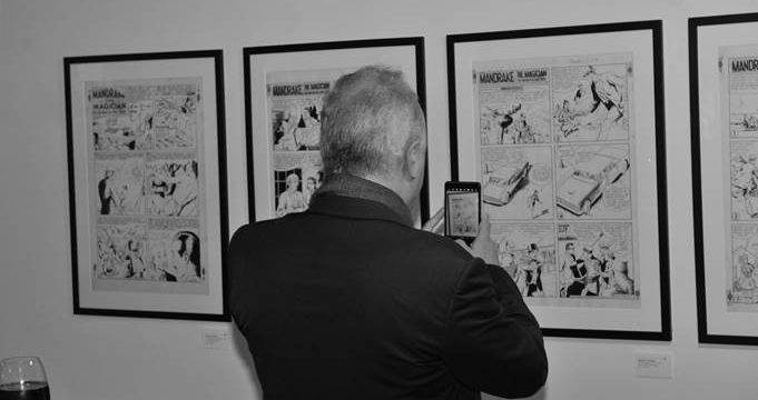 Vernissage de l'exposition Lee Falk